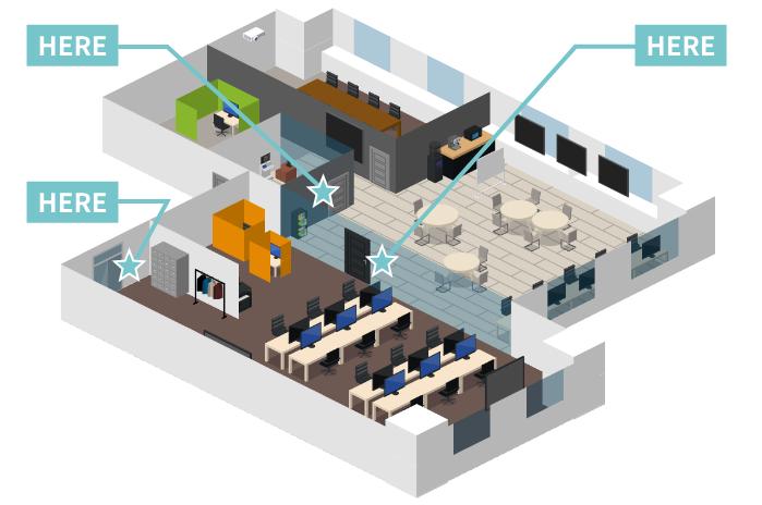 クラウド型入退室管理システム
