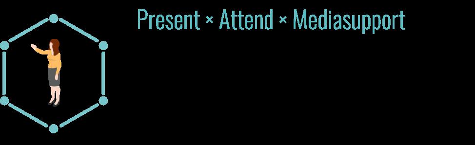 Present × Attend × Mediasupport Evangelist